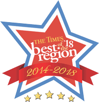 best of the region for 5 years