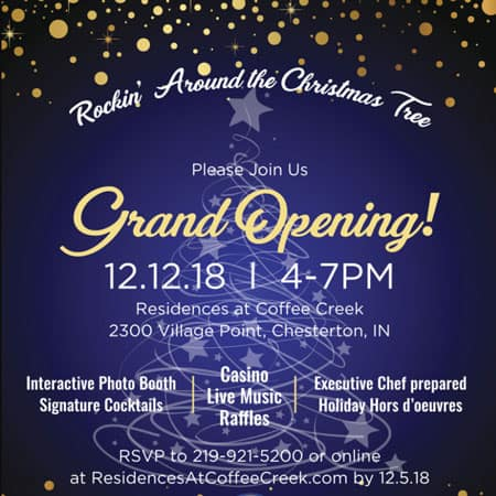 grand opening at coffee creek
