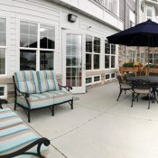 residences at coffee creek patio