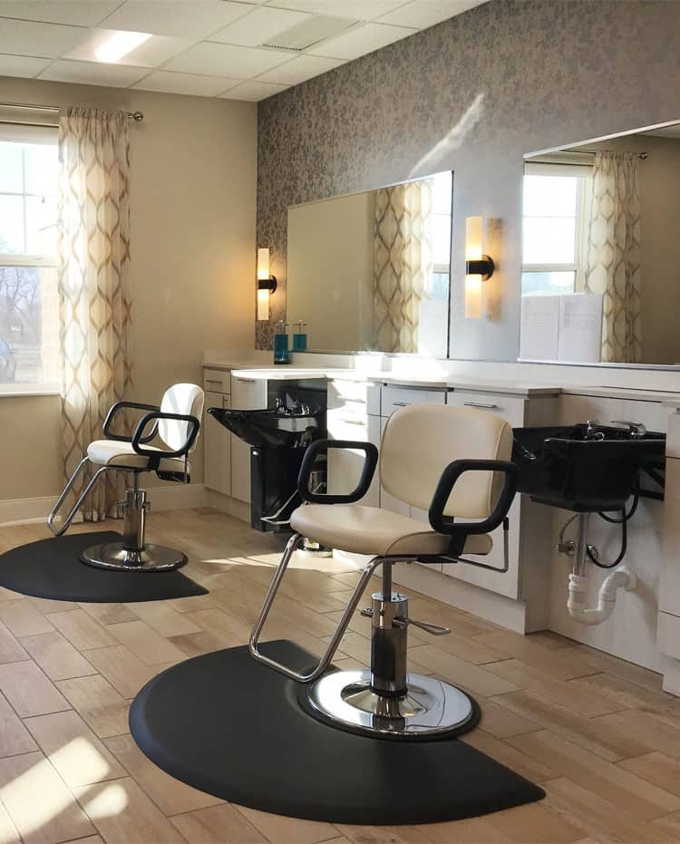 salon services at residences at coffee creek