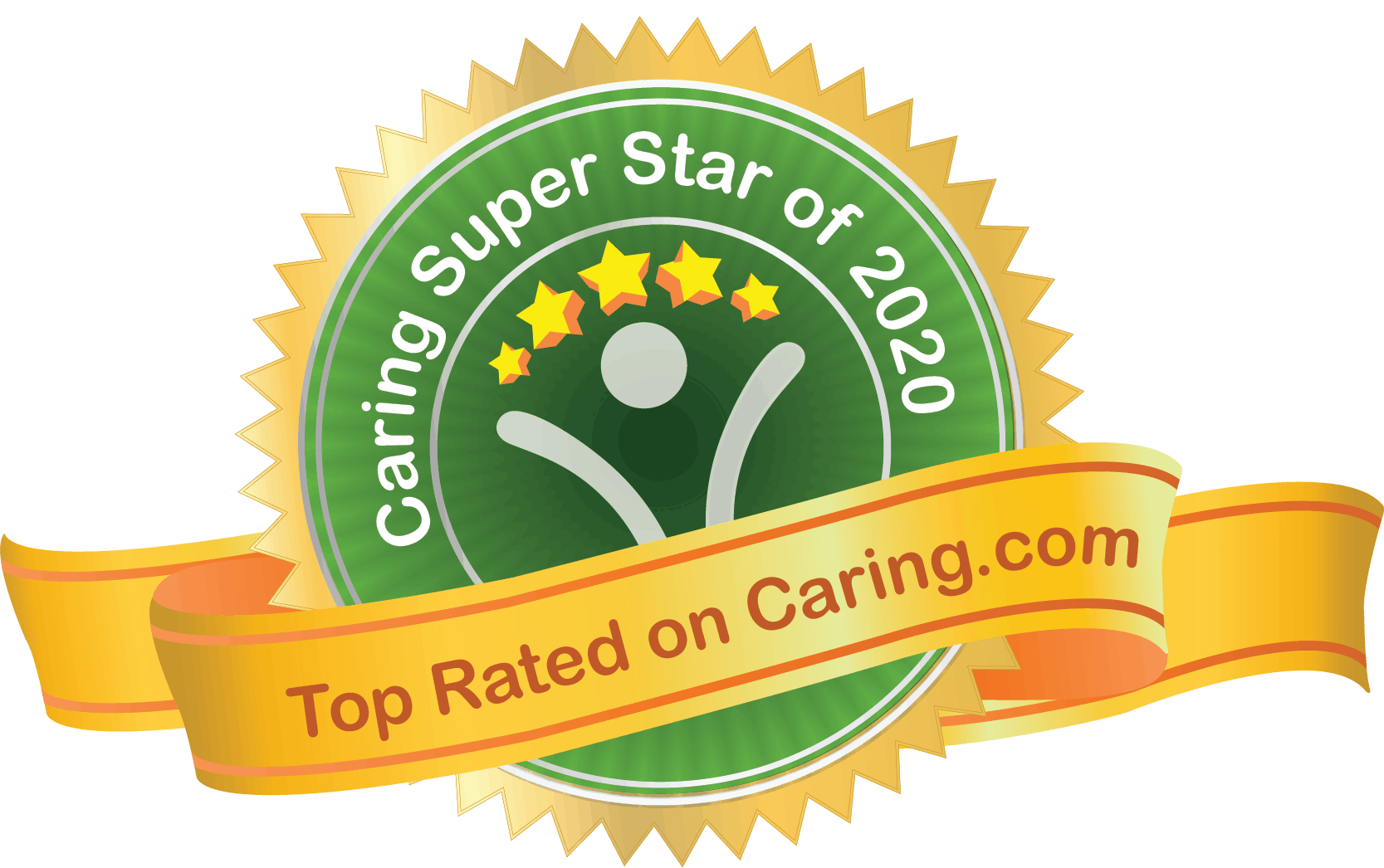 Caring Super Star Badge
