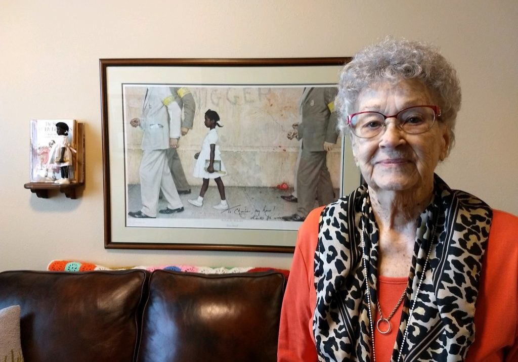 Deek Creek resident Betty Burks shares her late husband's role in the Ruby Bridges story.