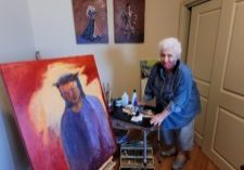 sasha&Christ painting aug'21